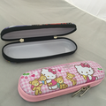 High Quality Fancy Pencil Tin Box With Zipper Popular for students with compartments