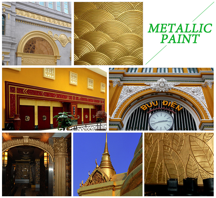 popular, luxury metallic spray paint, golden wall paint