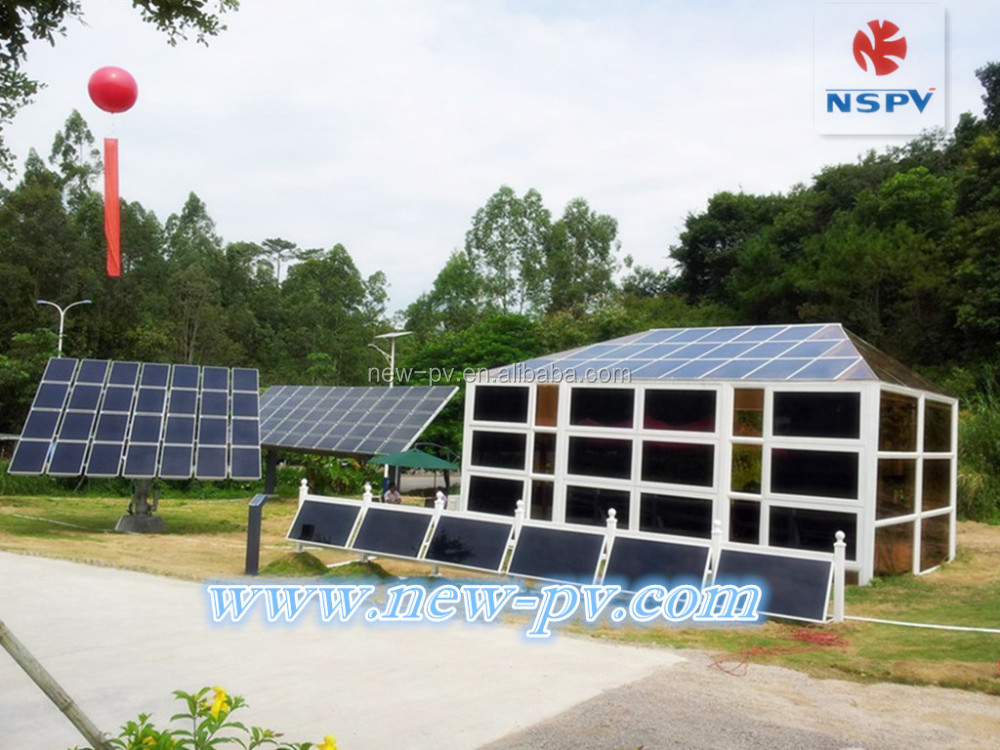 2KW 3KW 5KW Solar Power On/Off Grid System with solar panels 250 watt