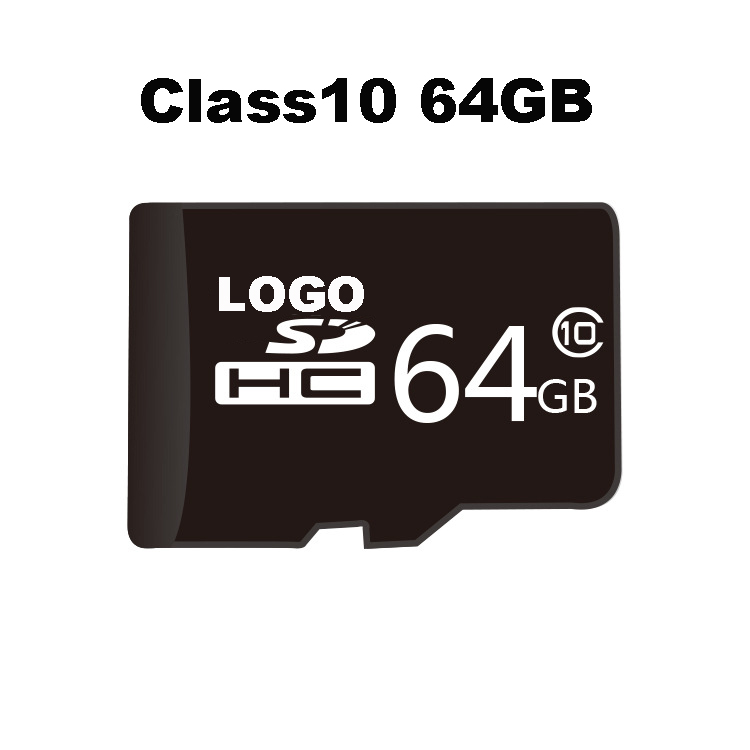 Free shipping cost mobile phone micro memory sd card 64gb
