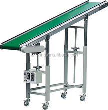 Nylon Rubber Inclined Belt Conveyor Machine Price Types Of Screw Conveyor System Conveying Machine