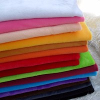 Micro-Velboa super soft fabric knitting for toys and hometextiles made by 100% polyester