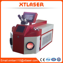 dealer price!! 200W automatic jewelry chain making machine 100J factory CE Laser Spot welding machine price