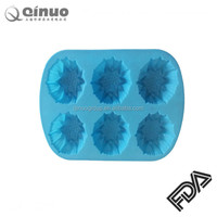 factory silicone bakeware/cake molds/baking mold with steel rims