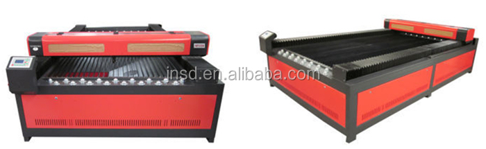 JINAN SUDIAO Wood Laser Machine With Honey Comb Table Stepper Motor