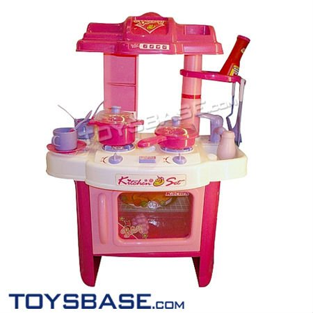 kitchen set toy for kids,with lights and music,electric kitchen