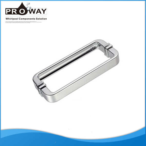 PROWAY Free Standing Shower Enclosure Spare Parts Double Sided Hotel Glass Door Handle