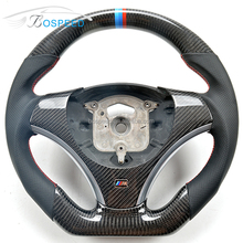 For BMW Performance E90 E92 M3 330 335 135i Thicker Carbon Fiber Steering Wheel