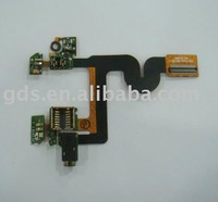 cell phone spare parts for blackberry javelin 8900/For blackberry javelin 8900 earphone flex/mobile phone flex cable for 8900