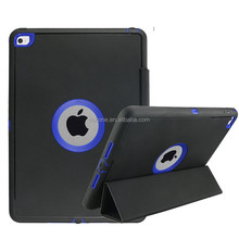 Best Selling Business Smart Wake/Sleep Cover case for Ipad mini 1/2/3 Auto-sleep TPU+PC+Leather case for Ipad mini 1/2/3
