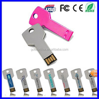 Promotional Gift Key USB 2.0 with Free Laser Engraving