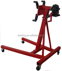 2000LB Car Engine Stand with Gear Box,Automotive Engine Stands