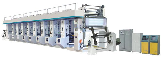 PRY-Z Color Rotogravure Press For Paper