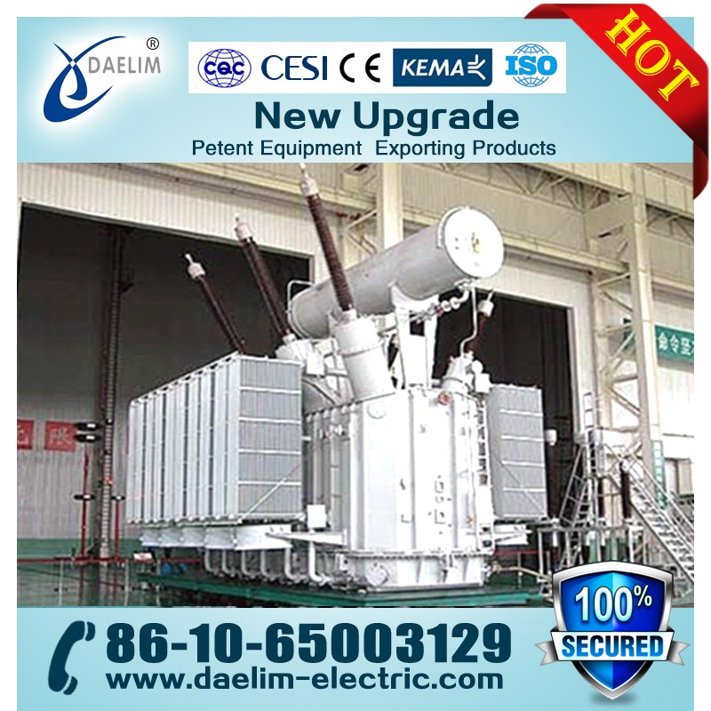 50hz Autotransformer 220kv 180mva Transformer for Substation