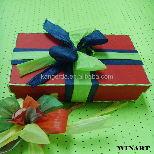 paper raphia ribbon twisted paper ribbon
