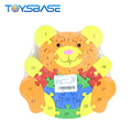 2018 New Products 26 Letters Digital Bear Wooden Puzzle Toys