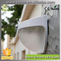 modern shape high brightness solar garden light solar fence lamp,solar garden wall light