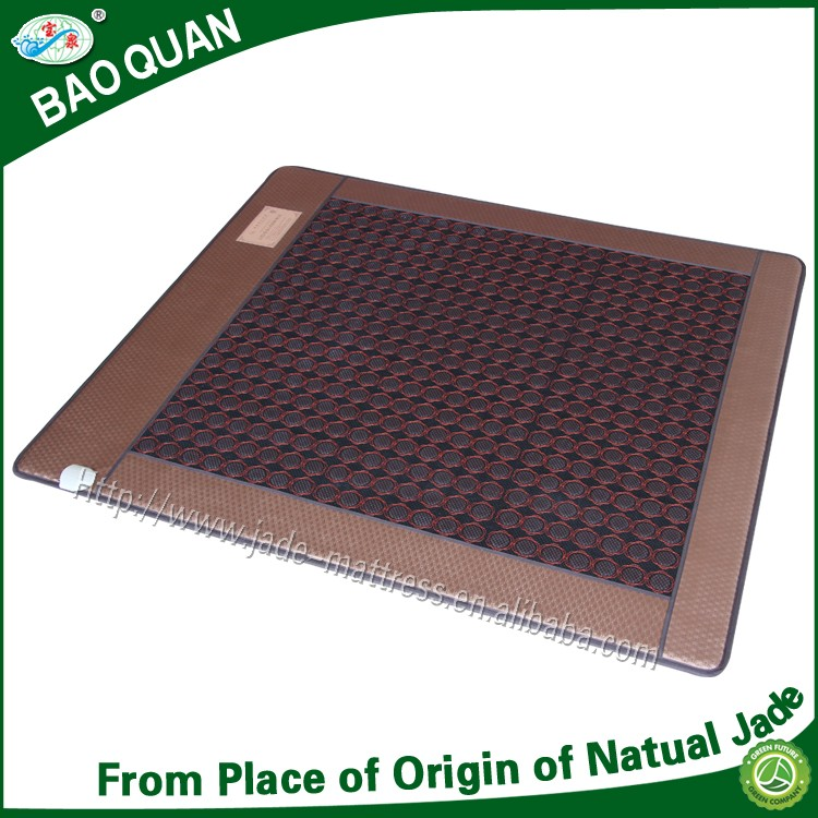 Korea nuga best similar far infrared magnetic therapy shiatsu massage tourmaline ceremic heater mat