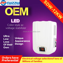 SDW 12kva servo voltage stabilizer price for household