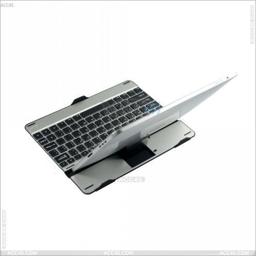 Fashion hot sell ebay slide wireless bluetooth keyboard case for 9.7inch and 10.1inch Tablet PC P-BLUETOOTHKB020