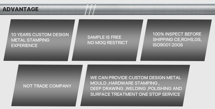 Custom metal stamping price , custom precision metal stamping