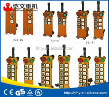 China best price bridge crane wireless remote control system F