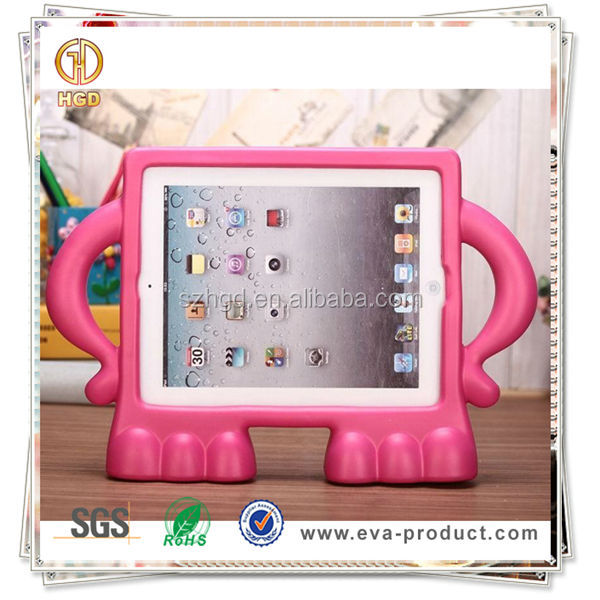 EVA Foam Cartoon Shape Children Proof Durable Tablet Cover Case For ipad 1/2/3