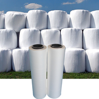 PE agriculture plastic bale silage wrap wrapping film
