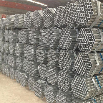 Furniture used Pre galvanized Round carbon steel Pipe Price List