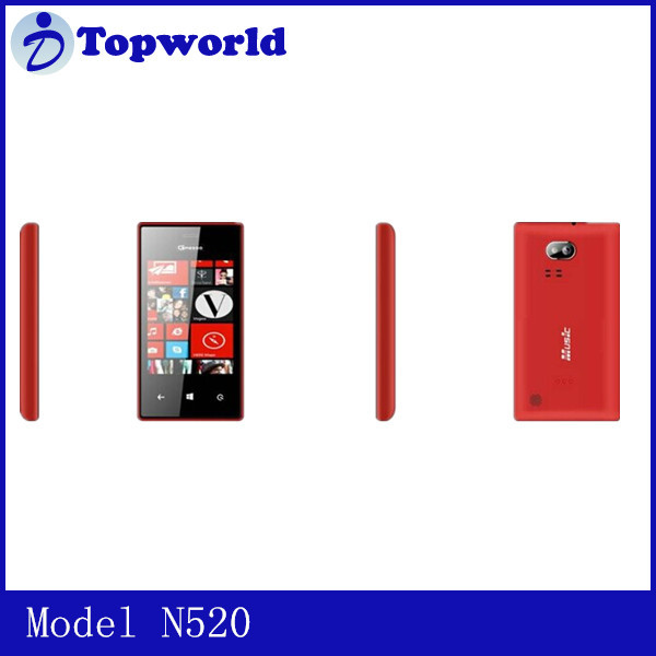 import cheap goods from china GRESSO N520 2 Bands Dual sim dual standby 3.2 inch TFT screen smart function phone