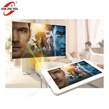 Hot Tablet PC Android 4.4 Smart Tablet PC Projector Home Theater Wifi Dual Camera Family Movie 8 Inch Mini ODM Laptop Tablet