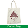 custom cheap standard size natural promotional shopping tote canvas cotton bag