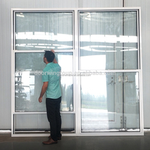 Ultra large glass window sliding window price with single double hung window by IGCC SGCC