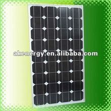 100w monocrystalline solar panel price india for sale with high efficiency for house