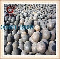 Squeeze casting steel grinding media ball