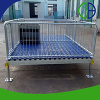 High Quality Hot Dip Galvanized Pig Farrowing Crate For Sale