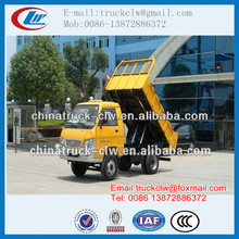 China 4x2, 4x4 MINI FOTON Dump Truck, Tipper Trucks 3 tons with Good price For Sale