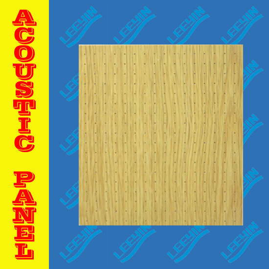 mdf acoustic ceiling board for sound absorbing