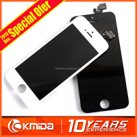 One Year Warranty mobile phone lcd for iphone 5, genuine original quality lcd screen display digitizer for iphone 5