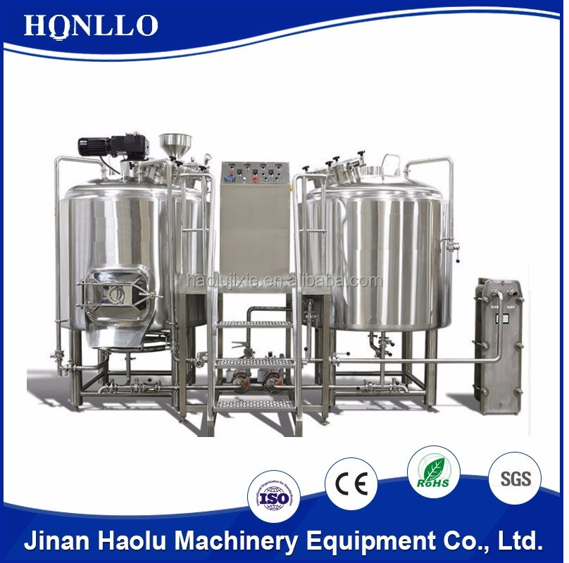 Top fermenting technology beer fermenter with glycol cooling jacketed cylinder conical tanks