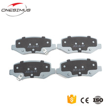 No noise no asbestos no dust quality Chinese product XPJC016 brake pads