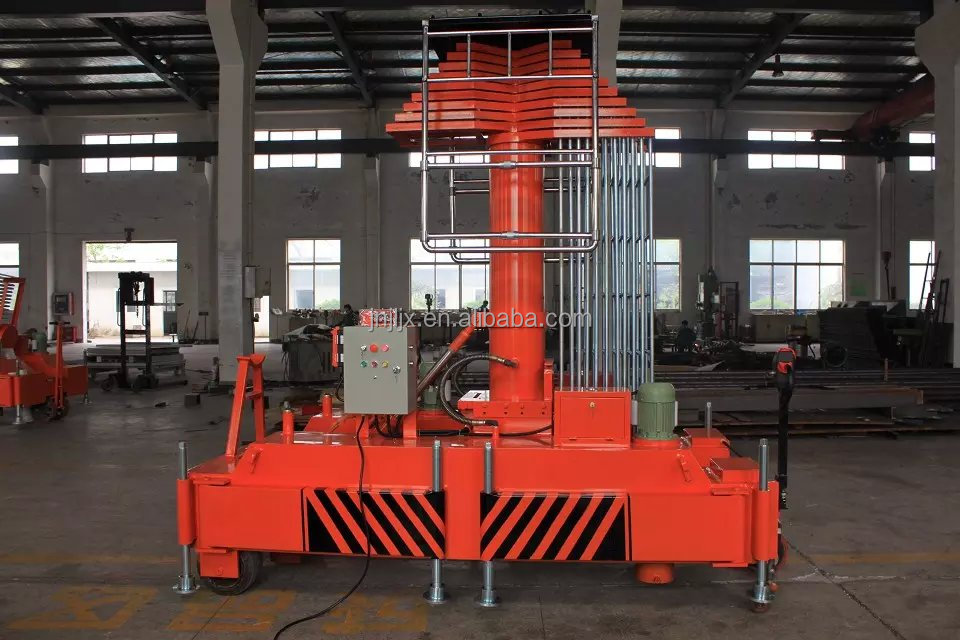 200KG/24M trailing telescopic cylindrical lift/machine