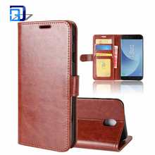 2017 Trending Products PU Leather Flip Protective Magnetic Protective Shell Wallet Stand Case Cover for Samsung Galaxy J5 2017