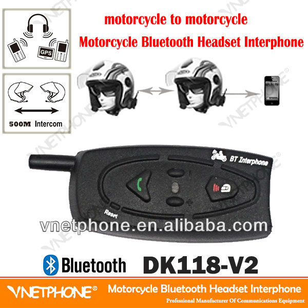 New electronic interphone motorcycle bluetooth