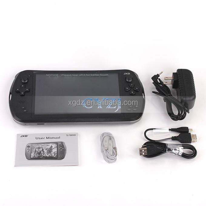 "7"" Quad Core Game Console Player tablet pc JXD S7800B S7800 gamepad Android 4.4.4 2G RAM 16GB 1280X800 IPS Dual Came"