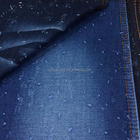 light weight 100% cotton jacquard/dobby denim fabric