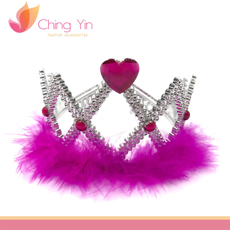 Wholesale Cheap Beautiful ABS Plastic Pageant Ballet Tiara
