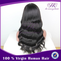China Supplier Best Selling Top Beauty Long Indian Remy Hair Wig For Men