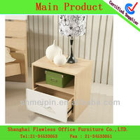 2013 hot sale modern wooden bedside table art deco console table bedside cabinet