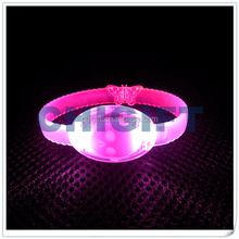 Wedding Dripping Decoration Women's LED Silicone Wristband